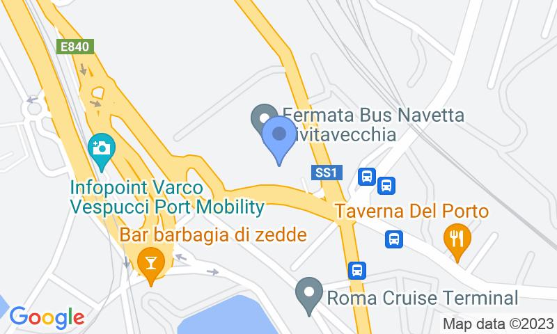 Localizzazione del parcheggio sulla mappa - Prenota un posto nel parcheggio LogiPort d'Ossat - Valet Coperto