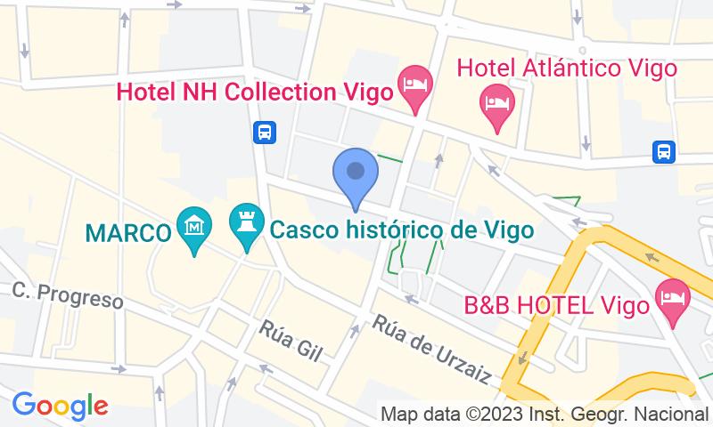 Localización del parking en el mapa - Reservar una plaza en el parking El Dorado