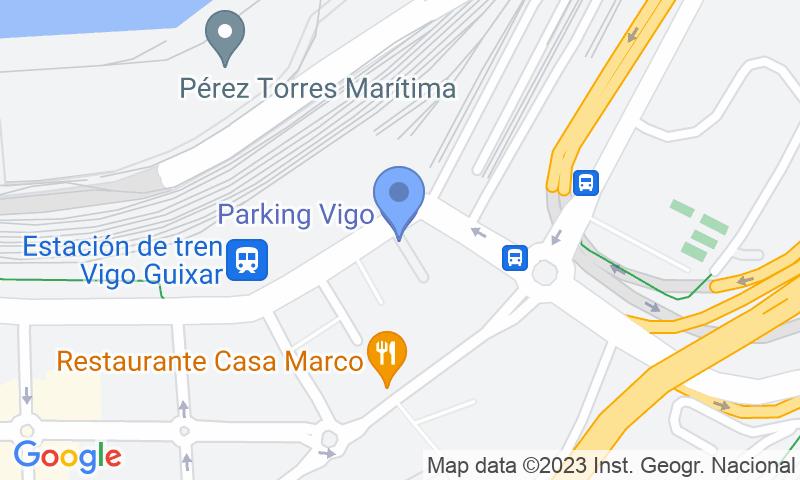 Lugar de estacionamento no mapa - Reserve uma vaga de  estacionamento no Vigo