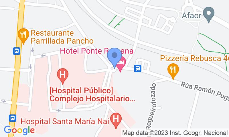 Lugar de estacionamento no mapa - Reserve uma vaga de  estacionamento no Santa María Nai
