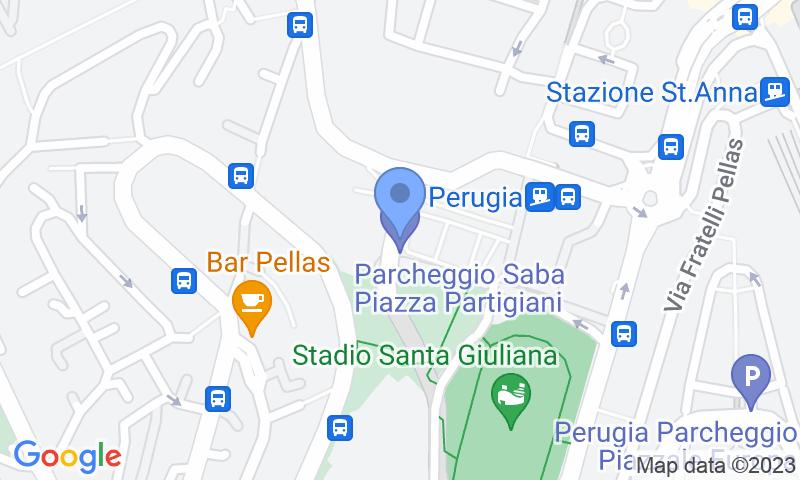 Lugar de estacionamento no mapa - Reserve uma vaga de  estacionamento no Saba Piazza Partigiani