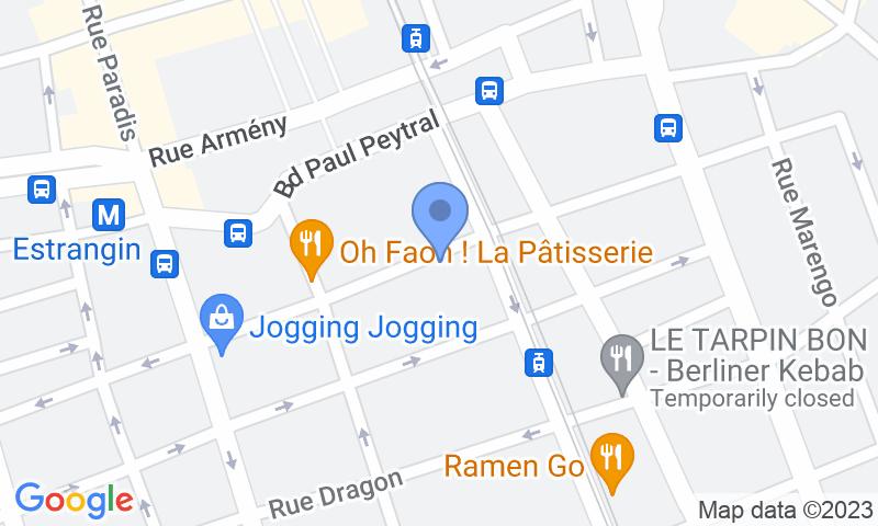 Расположение парковки на карте - Забронируйте паркоместо на стоянке Rome