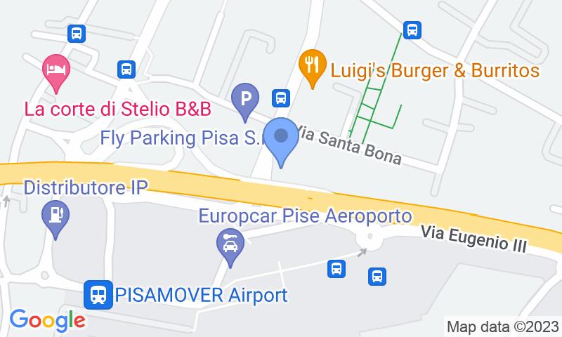 Localizzazione del parcheggio sulla mappa - Prenota un posto nel parcheggio Victory Parking - Scoperto