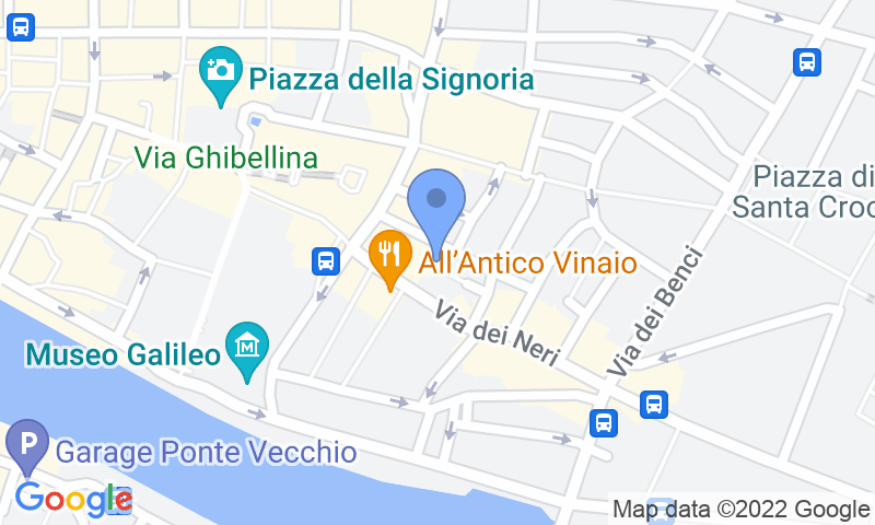 Parking location in the map - Book a parking spot in Garage Palazzo Vecchio car park