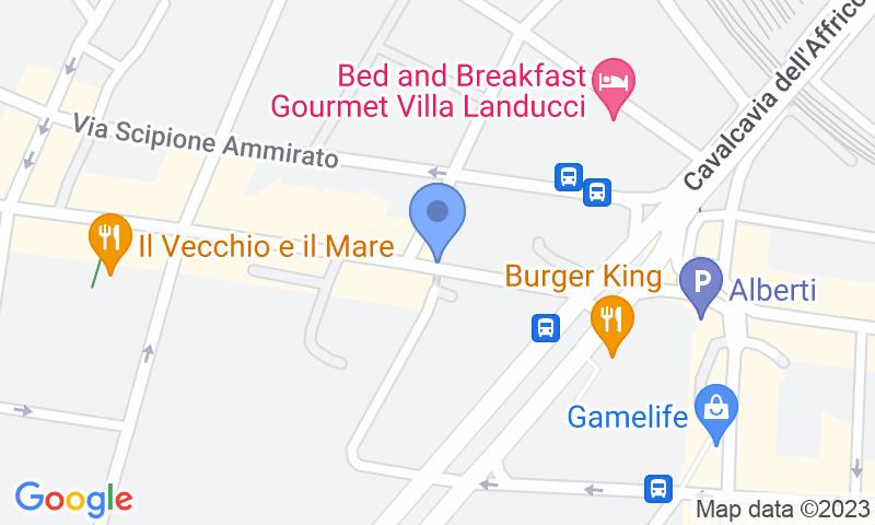 Localizzazione del parcheggio sulla mappa - Prenota un posto nel parcheggio Gioberti