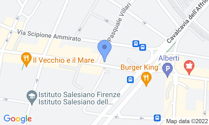 Расположение парковки на карте - Забронируйте паркоместо на стоянке New Garage Gioberti