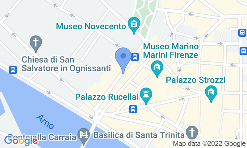 Localizzazione del parcheggio sulla mappa - Prenota un posto nel parcheggio Quick Garage Centrale Firenze