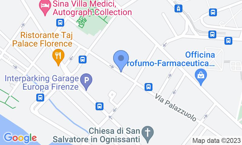 Localizzazione del parcheggio sulla mappa - Prenota un posto nel parcheggio Garage Excelsior