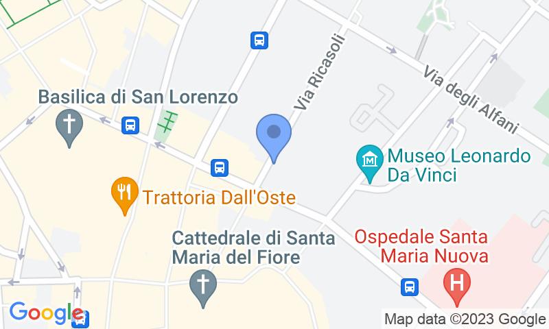 Localizzazione del parcheggio sulla mappa - Prenota un posto nel parcheggio Park2Go