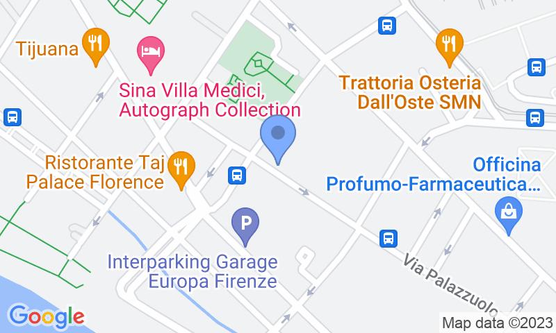 Localizzazione del parcheggio sulla mappa - Prenota un posto nel parcheggio Garage Palazzuolo