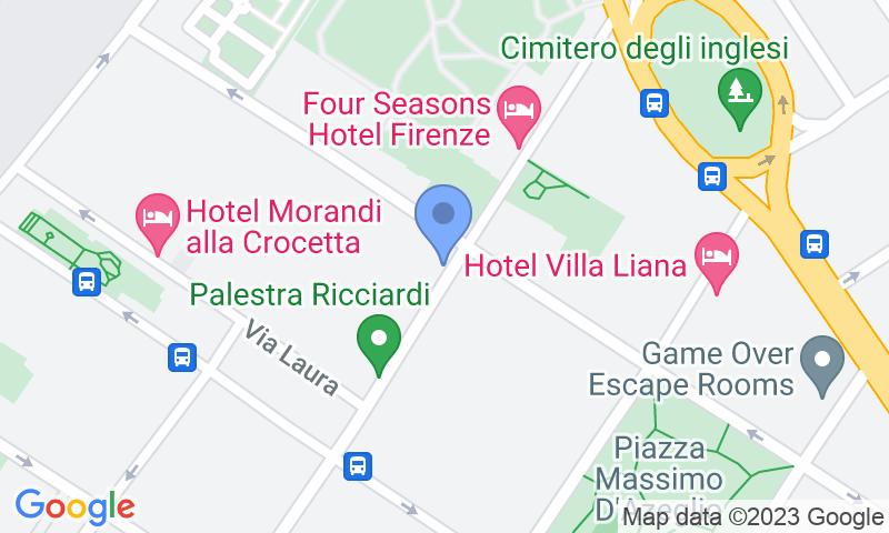 Localizzazione del parcheggio sulla mappa - Prenota un posto nel parcheggio City Florence