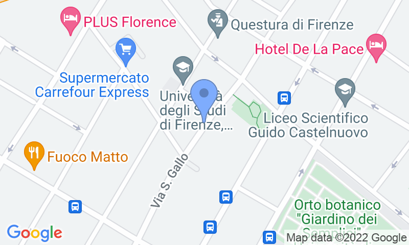 Localizzazione del parcheggio sulla mappa - Prenota un posto nel parcheggio San Gallo