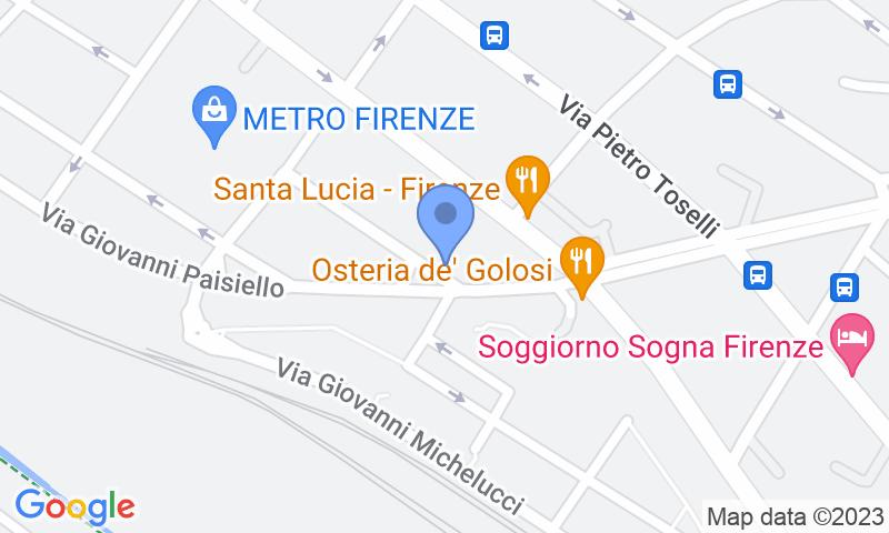 Localització del parking al mapa - Reservar una plaça al parking Garage Porpora