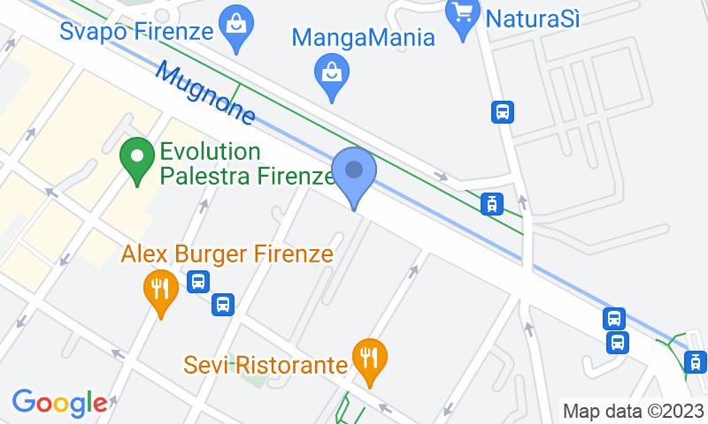 Localización del parking en el mapa - Reservar una plaza en el parking Garage Imperiale