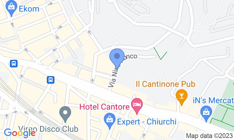 Localización del parking en el mapa - Reservar una plaza en el parking Autorimessa Granaldi