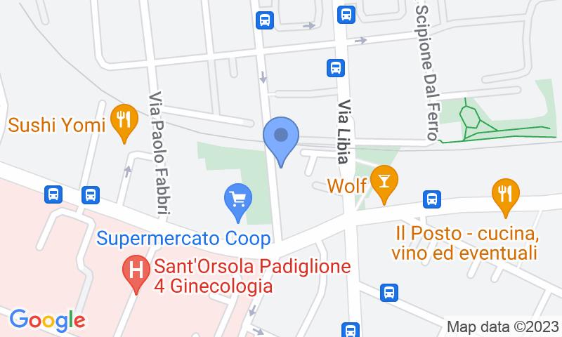 Localizzazione del parcheggio sulla mappa - Prenota un posto nel parcheggio Garage S. Orsola