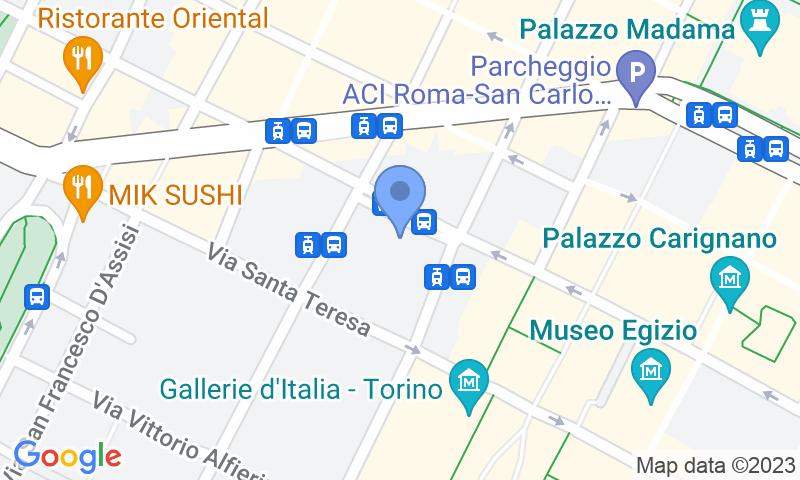 Localizzazione del parcheggio sulla mappa - Prenota un posto nel parcheggio Garage Autopalazzo