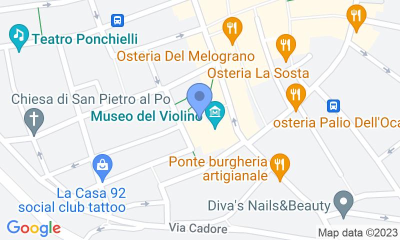 Localizzazione del parcheggio sulla mappa - Prenota un posto nel parcheggio Saba Cremona-Piazza Marconi