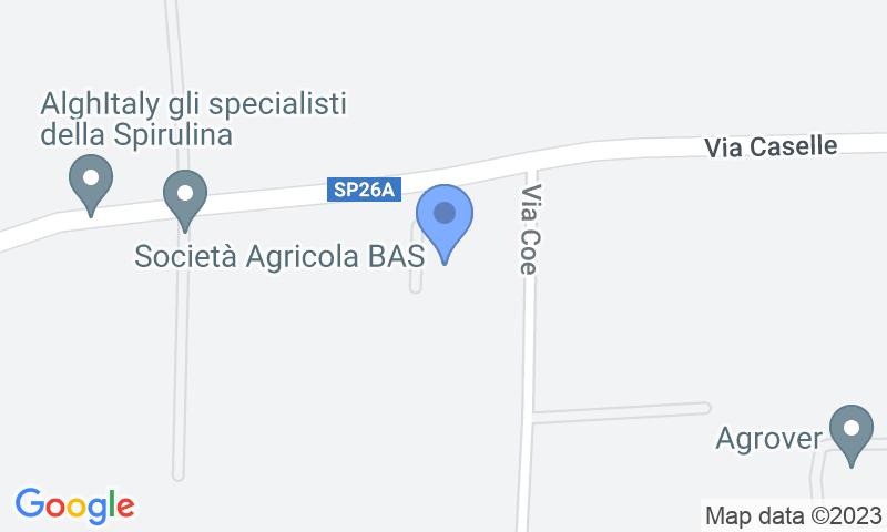 Localización del parking en el mapa - Reservar una plaza en el parking Fast Parking Verona Scoperto Shuttle