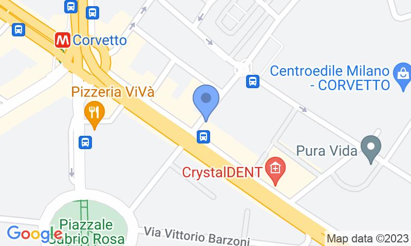 Localizzazione del parcheggio sulla mappa - Prenota un posto nel parcheggio Achilli
