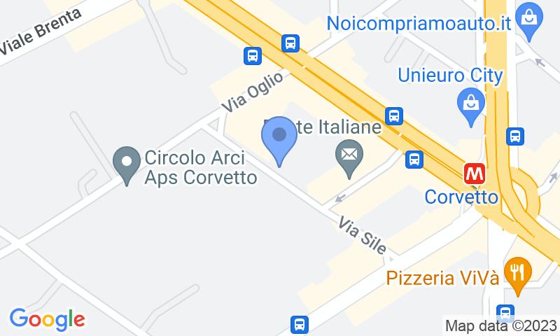 Localizzazione del parcheggio sulla mappa - Prenota un posto nel parcheggio Sile Parking
