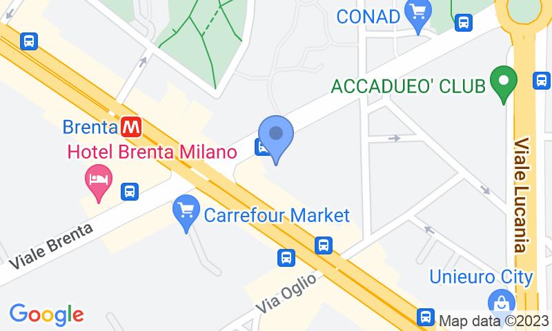 Localizzazione del parcheggio sulla mappa - Prenota un posto nel parcheggio Joe Gomme