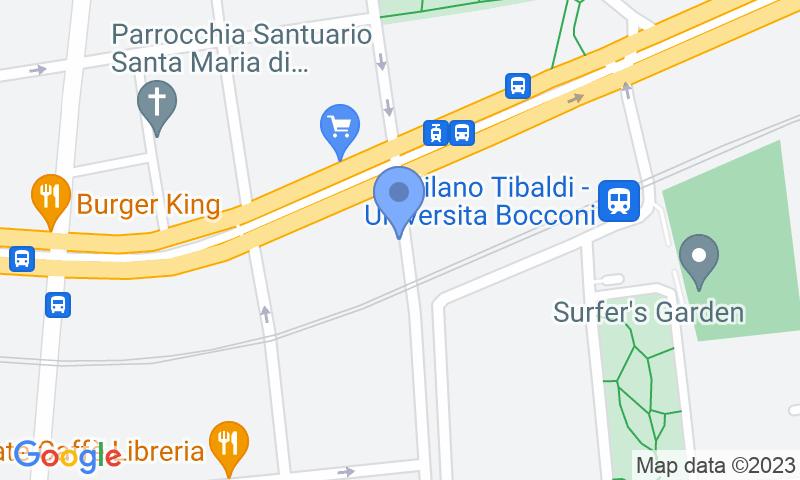 Standort des Parkplatzes auf der Karte - Buch einen Parkplatz im Pezzotti Parkplatz.
