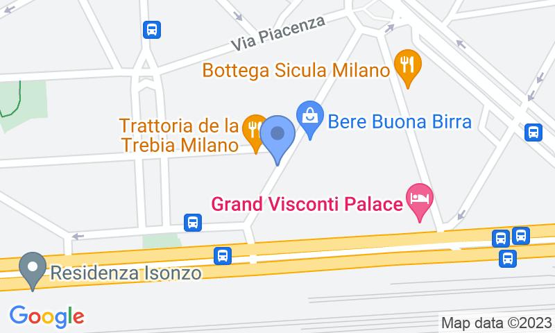 Localizzazione del parcheggio sulla mappa - Prenota un posto nel parcheggio Garage Adige