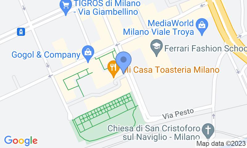 Localització del parking al mapa - Reservar una plaça al parking Savona