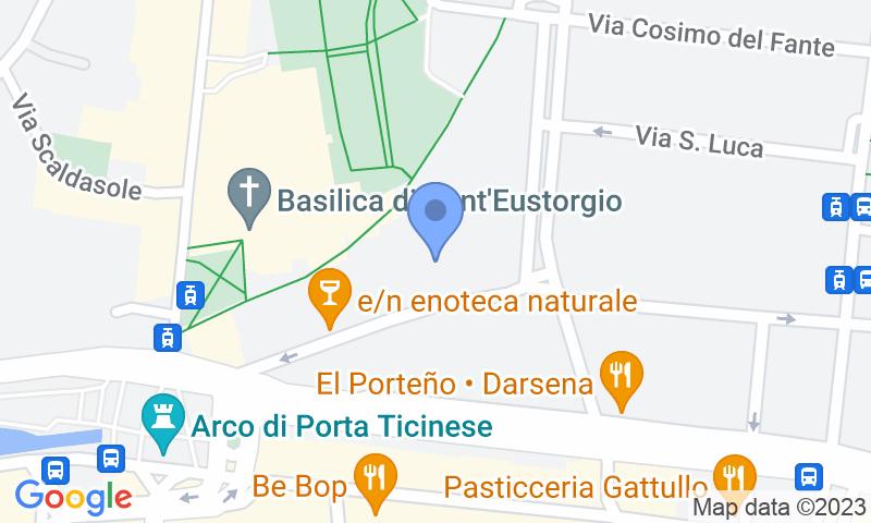Localizzazione del parcheggio sulla mappa - Prenota un posto nel parcheggio Delle Basiliche