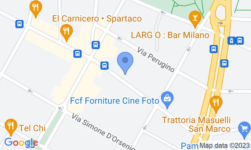 Localització del parking al mapa - Reservar una plaça al parking Carrefour Campionesi