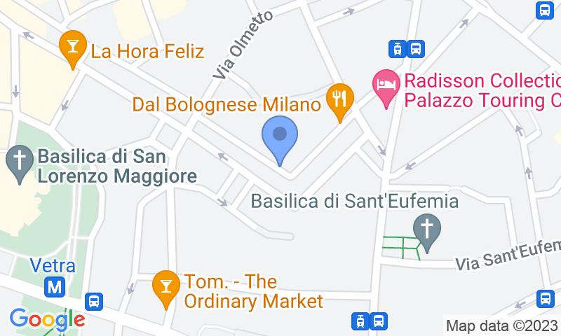 Localización del parking en el mapa - Reservar una plaza en el parking Car Central Parking