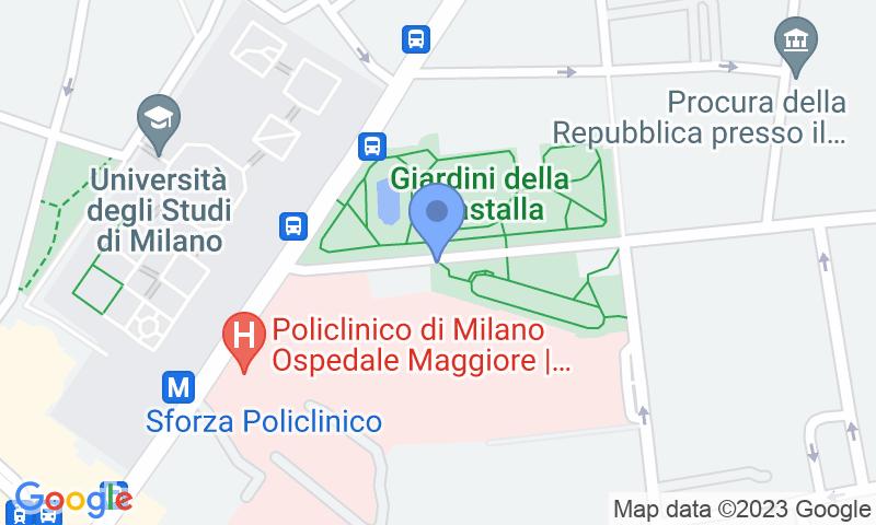 Localizzazione del parcheggio sulla mappa - Prenota un posto nel parcheggio San Barnaba