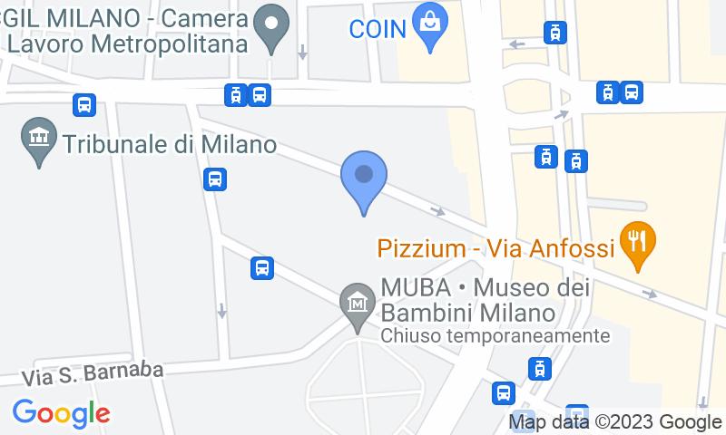 Localizzazione del parcheggio sulla mappa - Prenota un posto nel parcheggio Renargia