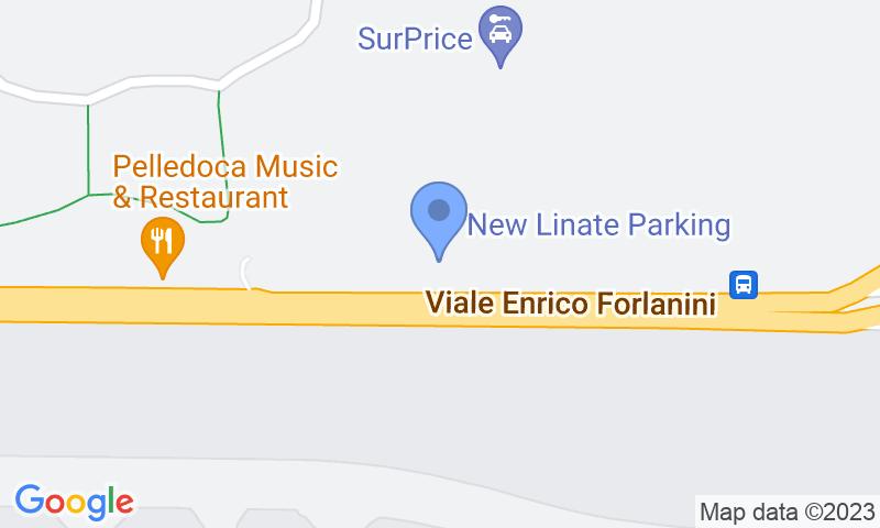 Localizzazione del parcheggio sulla mappa - New Linate Parking - Isola del Tronchetto