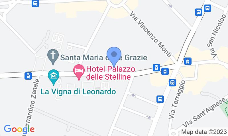 Parkeerlocatie op de kaart - Garage alle Grazie