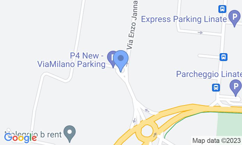 Localizzazione del parcheggio sulla mappa - Prenota un posto nel parcheggio Park In Linate