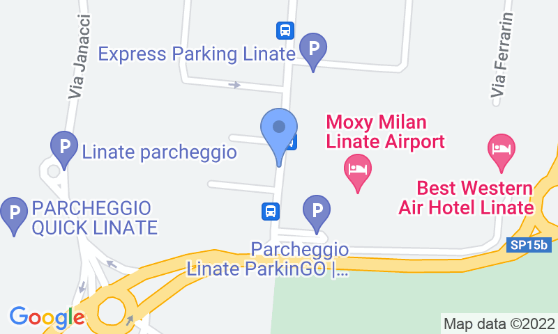 Localizzazione del parcheggio sulla mappa - Prenota un posto nel parcheggio Goodpark
