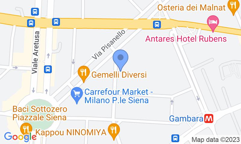 Localizzazione del parcheggio sulla mappa - Prenota un posto nel parcheggio Bell Garage