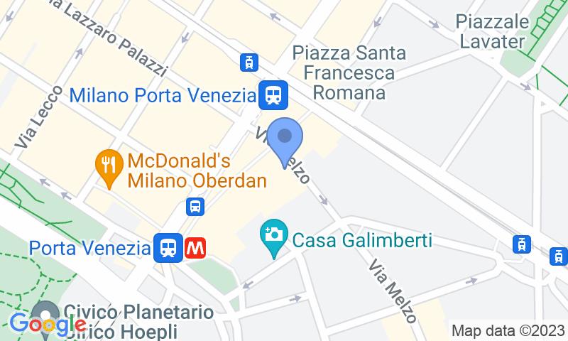 Localizzazione del parcheggio sulla mappa - Prenota un posto nel parcheggio M&N
