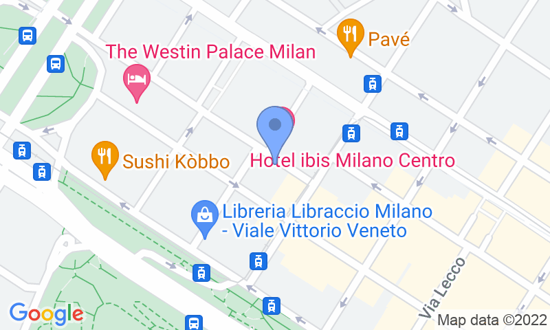 Localización del parking en el mapa - Reservar una plaza en el parking Machiavelli