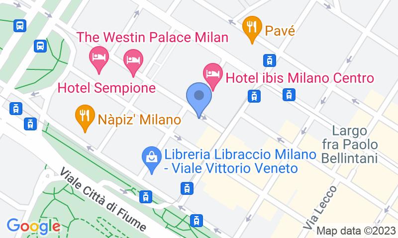 Localizzazione del parcheggio sulla mappa - Prenota un posto nel parcheggio Machiavelli