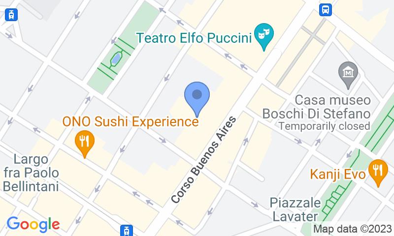 Localització del parking al mapa - Reservar una plaça al parking Quick Buenos Aires
