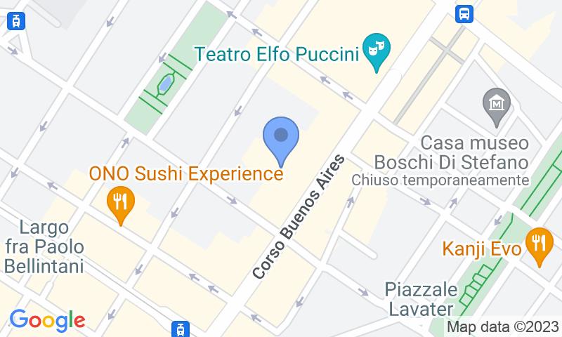 Localizzazione del parcheggio sulla mappa - Prenota un posto nel parcheggio Quick Buenos Aires