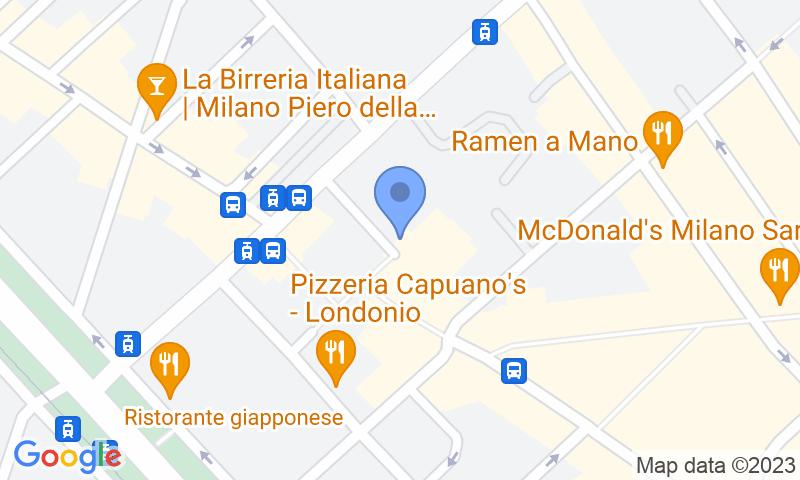 Localizzazione del parcheggio sulla mappa - Prenota un posto nel parcheggio Garage Piazza Gramsci