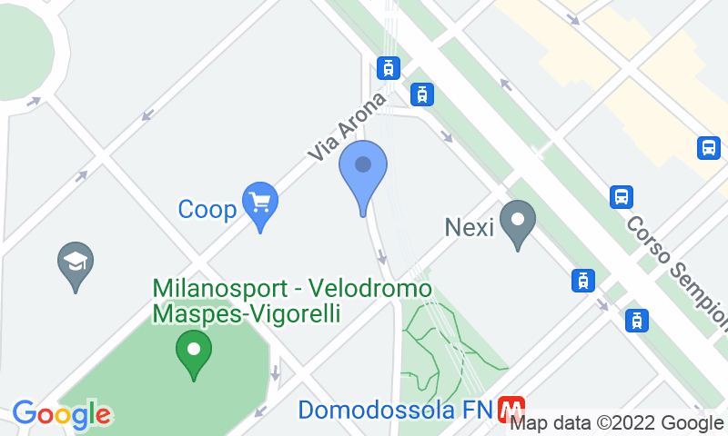 Расположение парковки на карте - Забронируйте паркоместо на стоянке Sempione