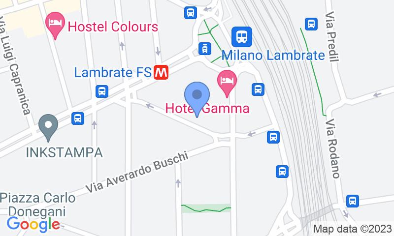 Parking location in the map - Book a parking spot in Autorimessa Trepi car park