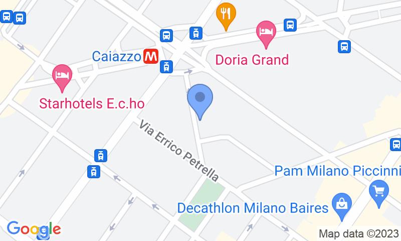 Localización del parking en el mapa - Reservar una plaza en el parking CRISTAL