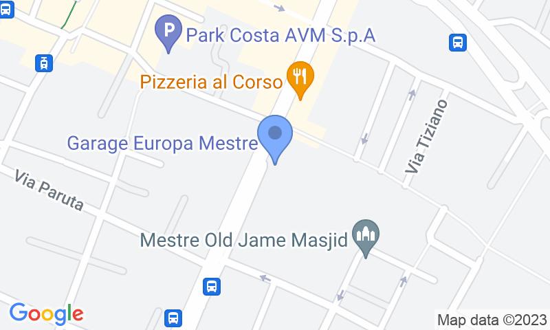 Standort des Parkplatzes auf der Karte - Buch einen Parkplatz im Garage Europa Parkplatz.