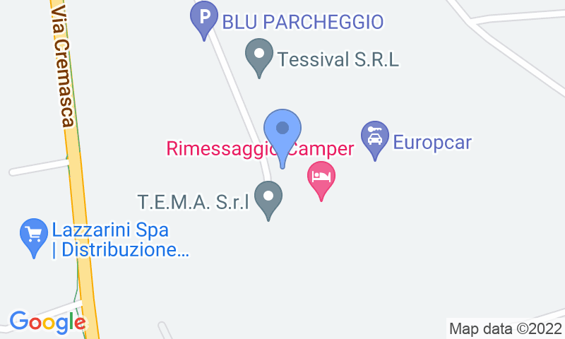 Parking location in the map - Book a parking spot in Orio - Coperto car park